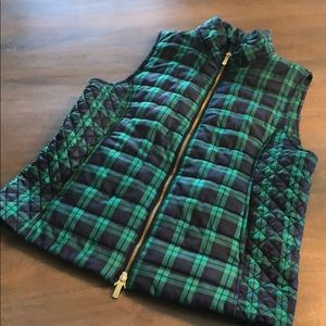 Black watch Plaid Vineyard Vines Vest